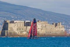 trentaquattresimi Serie di mondo della tazza dell'America 2012 a Napoli Fotografia Stock Libera da Diritti