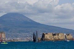 trentaquattresimi Serie di mondo della tazza dell'America 2012 a Napoli Fotografie Stock