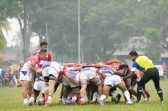 Trentatreesima tazza di Agong di rugby, finali quarti Fotografia Stock