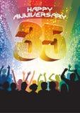 Trente-cinquième anniversaire Images libres de droits
