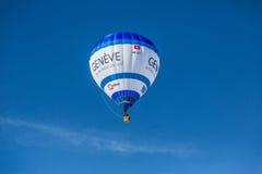trente-cinquième festival chaud de ballon à air 2013, Suisse Photo libre de droits