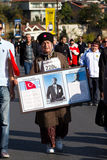 trente-cinquième marathon d'Istanbul l'Eurasie Image libre de droits