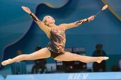 trente-deuxième Championnat du monde de gymnastique rythmique Image stock