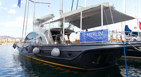 trente-deuxième Istanbul international Boatshow Photos libres de droits