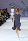 trente-neuvième semaine ukrainienne de mode dans Kyiv, l'Ukraine Photographie stock