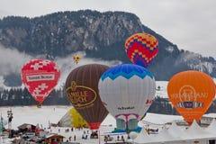 trente-quatrième Festival International de Ballons Image libre de droits