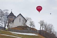 trente-quatrième Festival International de Ballons Photo libre de droits