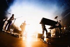 Trentemoller (Duński elektronicznej muzyki producent i instrumentalista opierający się w Kopenhaga) obraz stock