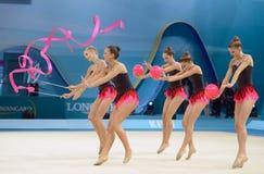 trentes-deuxième championnats du monde de gymnastique rythmique Photo stock