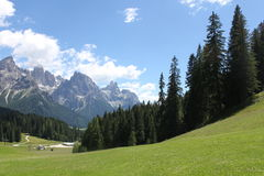 Trentine-Panorama Lizenzfreie Stockbilder