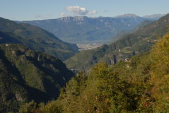The Trentino Stock Image