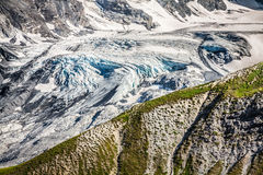 Trentino Alto Adige, Italian Alps - The Ortles glacier Royalty Free Stock Photo