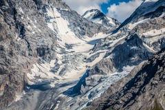 Trentino Alto Adige, Italian Alps - The Ortles glacier Stock Image