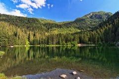 Trentino - Caprioli lake Stock Photography