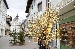 Trentino Italia de Brunico San Cándido Fotografía de archivo libre de regalías