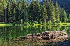 Trentino - lago dei Caprioli Royalty Free Stock Images