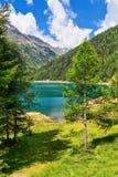 Trentino - lake Pian Palu Royalty Free Stock Photography