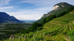 Trentino. Landscape in northern Italy stock video