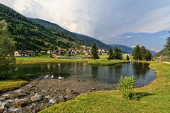 Trentino - park in Vermiglio Royalty Free Stock Photo