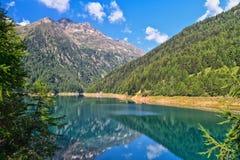 Trentino - Pian Palu lake Stock Photos