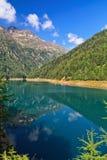 Trentino - Pian Palu lake Stock Image