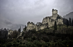Trentino Sabbionara dAvio castle HDR Royalty Free Stock Photography