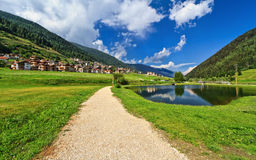 Trentino - Val di Sole royalty free stock photos