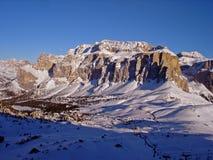 Italy, Trentino, dolomites at dusk, Royalty Free Stock Photo