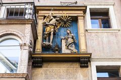 Trento, Ιταλία στοκ εικόνα με δικαίωμα ελεύθερης χρήσης
