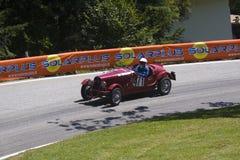 Trento Bondone 2011 - Hystoric Car Royalty Free Stock Images