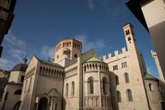 Trento Cathedral , Italy stock photography