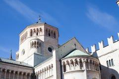 Trento Cathedral. (Saint Vigilius cathedral in Trento, Italy Stock Photo