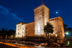 Trento city in Italy. Museum building in the Italian city Riva del Garda Royalty Free Stock Images