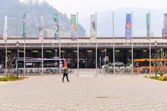 Trento dworzec fotografia stock