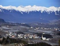 Trento em Trentino Italy imagens de stock