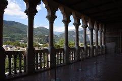 Trento, Italia interior de la casta Buonconsiglio imagen de archivo