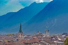 Trento, Italie Photo stock