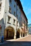 Trento Italien Arkivfoto