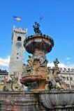 Trento Italien Royaltyfria Foton