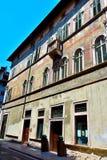 Trento Italy. The historic center of Trento Italy stock photo