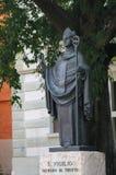 Trento - Statue of San Vigilio Stock Images