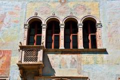 Trento trentino alto adige italy. Geremia Palace Trento trentino alto adige Italy stock images