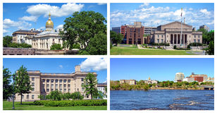 Trenton New Jersey Collage Royalty Free Stock Photography