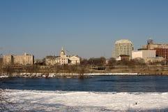 Trenton panorama Royalty Free Stock Photo