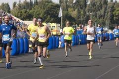 trentunesima maratona classica di Atene Fotografia Stock Libera da Diritti
