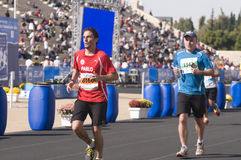 trentunesima maratona classica di Atene Fotografie Stock Libere da Diritti