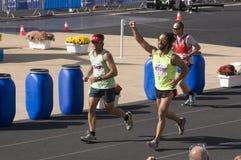 trentunesima maratona classica di Atene Fotografia Stock