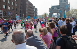trentunesimi Maratona di Londra Fotografia Stock