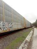 Trenu pociąg Fotografia Stock