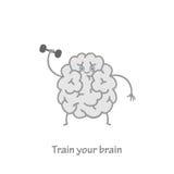 Trenuje twój mózg Obraz Stock
